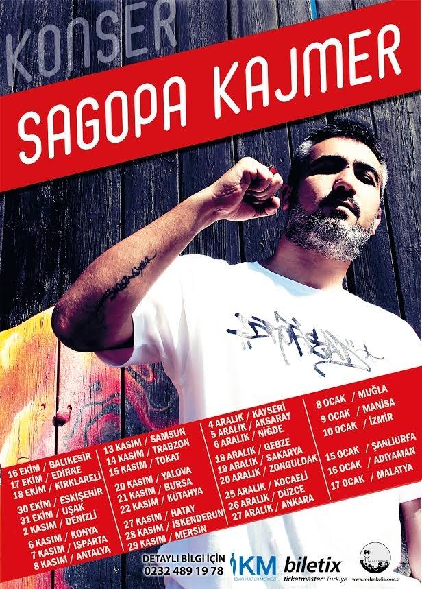 Sagopa Kajmer 2015 Yılı Konser Tarihleri